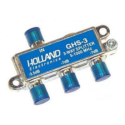 SPLITTER 1 x 3  5-1002MHZ GHS-3 HOLLAND
