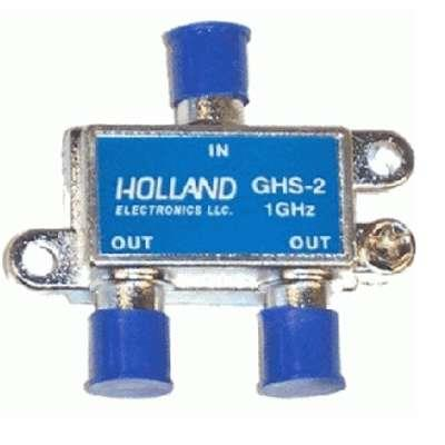 SPLITTER 1 X 2 GHS-2 5-1002mhz HOLLAND